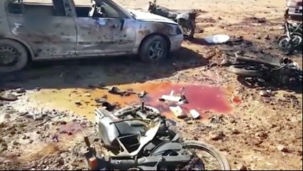 Suicide bomber kills more than 50 in Syria's Al Bab