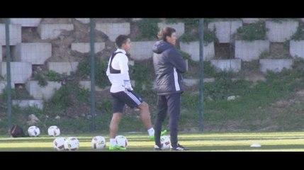 A l'entraînement avec... Maxime Lopez