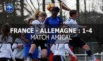 U17 Féminine : France-Allemagne (1-4), le résumé