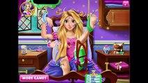 Frozen challenge Rapunzel Anna Elsa Hospital Recovery Doctor Compilation Frozen games for