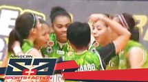 The Score: DLSU Spikers defeats UE Lady Red Warriors at their Volleyball match