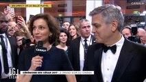 Amal Clooney dit quelques mots en Français
