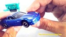 Autos de juguete camión de la grúa de vídeo de la colección de juguetes de coche CHEVROLET CORVETTE Z06 juguetes videos collectio