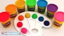 Aprender los Colores con Play Doh plastilina Frutas Moldes Creativas y Divertidas para los Niños * arco iris