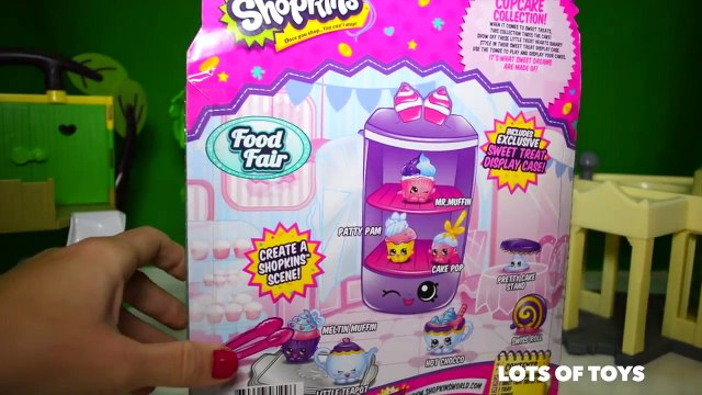 Dora, Peppa Pig, Shop at Shopkins Food Fair Cupcake Collection by Girls Tube - Peppa Pig