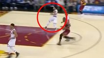 LeBron James Makes Derrick Rose RUN AWAY on Defense During Fastbreak