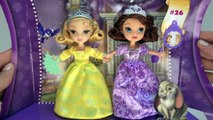 SOFIA THE FIRST Princess Sister Sleeptime Disney Junior Princess Toy + Amber Video Unboxi