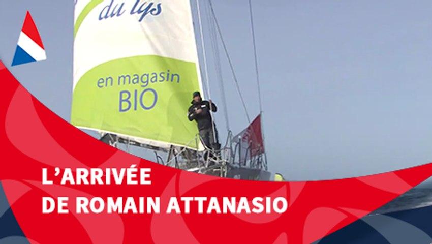 J109 : L'arrivée de Romain Attanasio / Vendée Globe