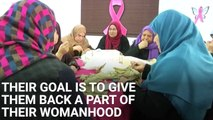 Palestinian Women Make Mastectomy Bras For Breast Cancer Patients