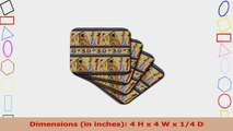 Lee Hiller Designs General Themes  Egyptian Hieroglyphics  set of 8 Ceramic Tile a46b6b50