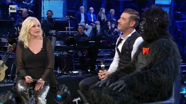 Francesco Gabbani a Standing Ovation parla della partecipazione a Eurovision 2017