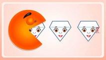 Aprender los Colores con Packman de dibujos animados, Enseñar los Colores, Bebé Niños Videos de Aprendizaje por los Niños Pl