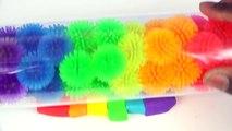 DIY Cómo Hacer plastilina arco iris Coche Divertido y Creativo de los Niños de Vídeo Play Doh Coches Moldes Rai