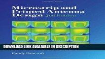 Download Microstrip and Printed Antenna Design
