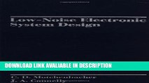 PDF [DOWNLOAD] Electronic Noise and Low Noise Design BOOK