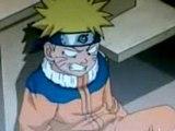 Le premier baiser de Sasuke et Naruto.