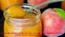 How to make jam peaches, delicious peach jam guide