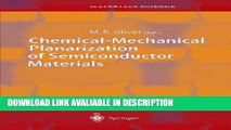 Download FREE Chemical-Mechanical Planarization of Semiconductor Materials (Springer Series in