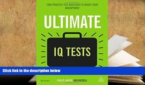 Popular Book  Ultimate IQ Tests: 1000 Practice Test Questions to Boost Your Brainpower (Ultimate