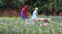 Frozen Elsa & Anna NAIL POLISH CHALLENGE vs Spiderman, Hulk & Joker Coke Coca Cola FUN in Real Life-O7zw3CMxkeg