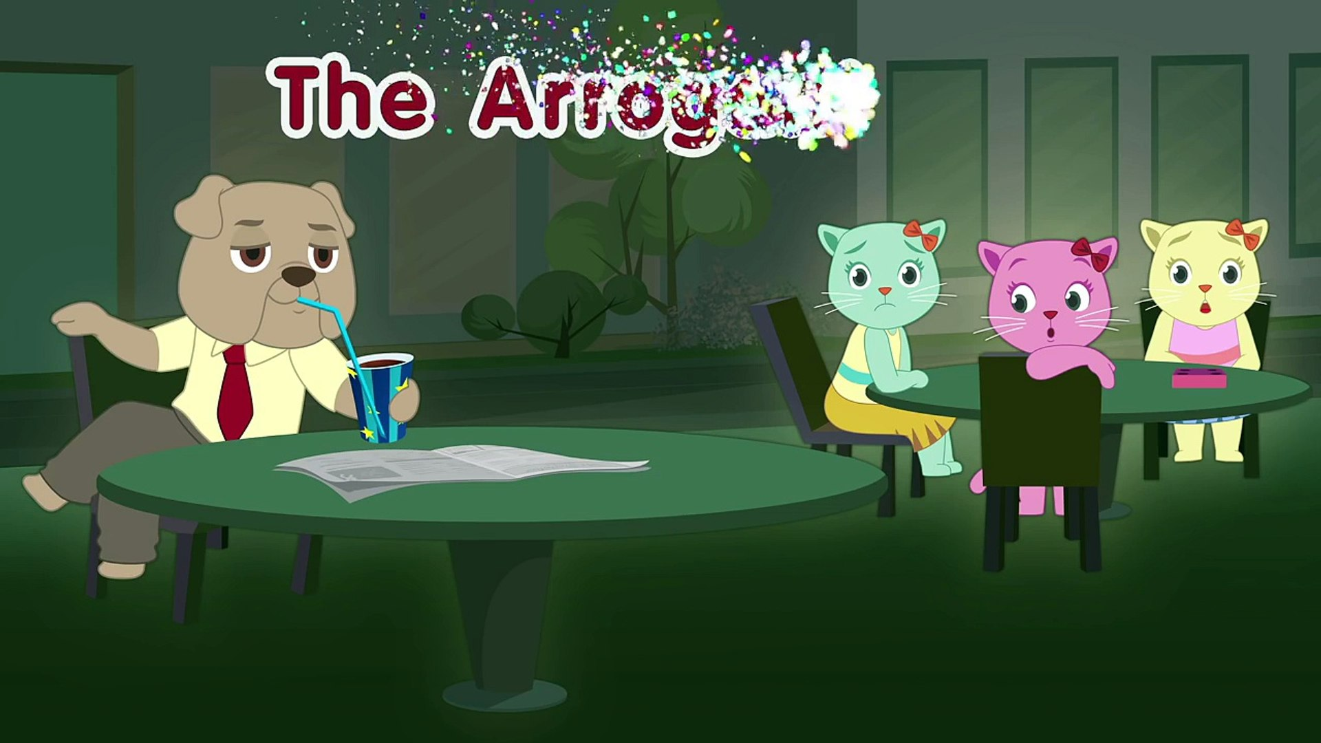 The Arrogant Dog - Cutians Funny Cartoon Comedy Show For Kids-Rhyme for Kids