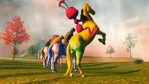 Животные, семья палец рифмы | 3D анимированные семья палец песни | папа, семья палец рифмы песни