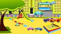 Carritos para niños - Excavadora y Camión - Coches para niños - Caricatura de carros