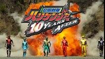 Ninpuu Sentai Hurricaneger: 10 YEARS AFTER Trailer