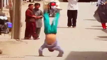 Pakistani Talent - These fearlessly talented parkour boys will amaze you