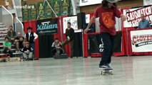 Boy, 13, competes as pro skateboarder