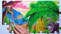 Puzzle Games MOWGLI Clementoni Rompecabezas The Jungle Book Baloo, Akela, Bagheera, Kaa, Kids Toys