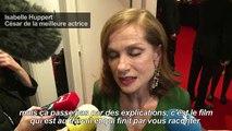 «Elle» et Isabelle Huppert couronnés aux César