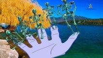 3D Esqueletos de Dedo de la Colección de la Familia | Funny Dedo de la Familia Rima de cuarto de niños Canciones