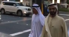 Watch: Sheikh Mohammed spotted at Dubai's City Walk
