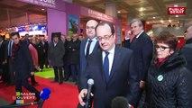 """Salon Ouvert : le bilan """"agriculture"""" de François Hollande  - Salon de l'Agriculture 2017 (25/02/2017)"""