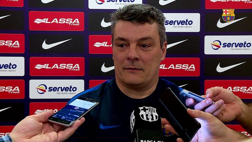 """Xavi Pascual: """"Nos espera un partido de máximo nivel"""""""