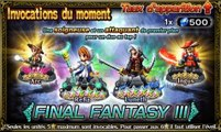 Final Fantasy Brave Exvius Bannière: Final Fantasy III du 04/11/2016