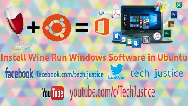 Install Wine in 2 Step and Run Windows Software in Ubuntu Tutorial 2017
