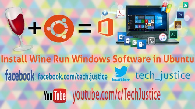Install Wine in 2 Step and Run Windows Software in Ubuntu Tutorial 2017