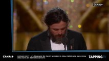 Oscars 2017 : Casey Affleck meilleur acteur, sa belle déclaration d'amour à son frère Ben Affleck