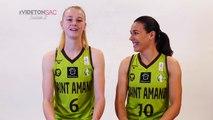 Vide ton sac - Claire Stievenard et Laura Garcia (Hainaut Basket)