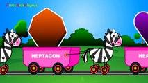 Shapes Train ,  Shapes for Children ,  2d Shapes ,  Shapes Song - Shapes for Kids