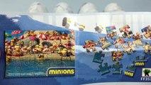 Миньоны Киндер сюрприз шоколадные яйца Миньоны Кевин Боб Стюарт мини-фигурки персонажей игрушки