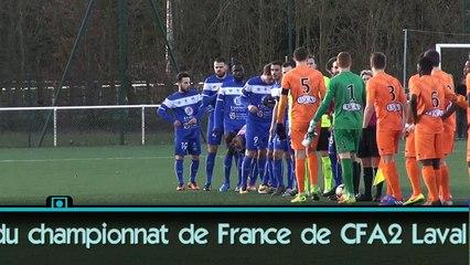 Laval B - Sablé FC les buts, les occasions et 2 réactions