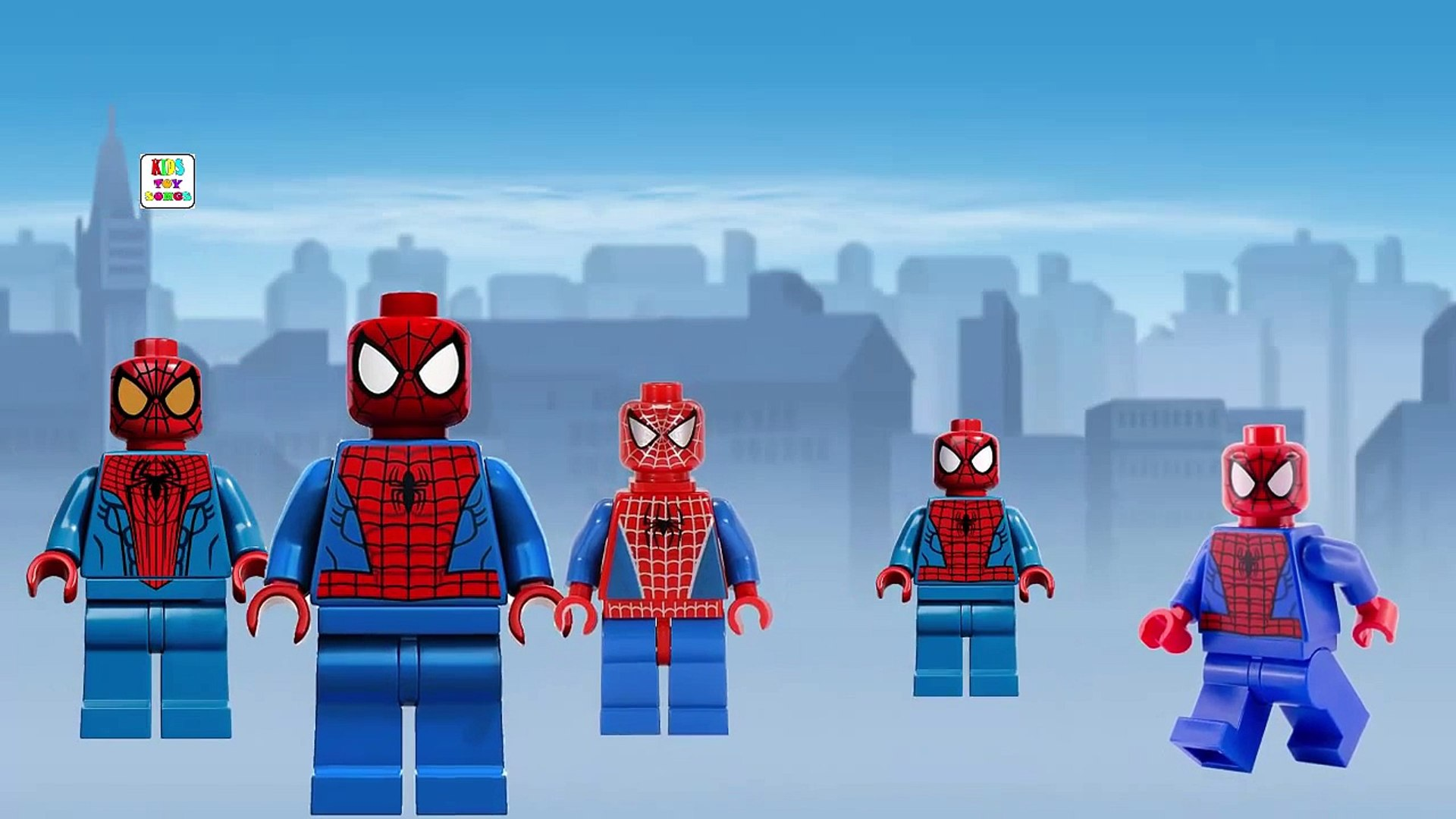 Finger Family Song Spiderman Playlist - Daddy Finger Song Spiderman Playlist = Family Fing
