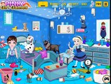 Frozen Babies Room Cleaning: Disney princess Frozen - Best Baby Games For Girls