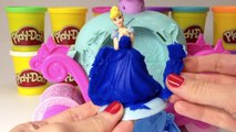 Play Doh Cinderella Magical Carriage Disney Princess Cinderella Play Dough Clay Hasbro Toy Review