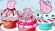 Peppa Pig CupCake Dedo De La Familia De La Canción Chocolate Daddy Dedo Rimas De Cuarto De Niños De La Cookie De Vídeo De Tv