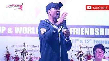 Akshay Kumar Speech At 2nd Kudo World Cup Launch