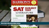 Best Ebook  Barron s SAT Subject Test: Literature with CD-ROM, 5th Edition (Barron s SAT Subject